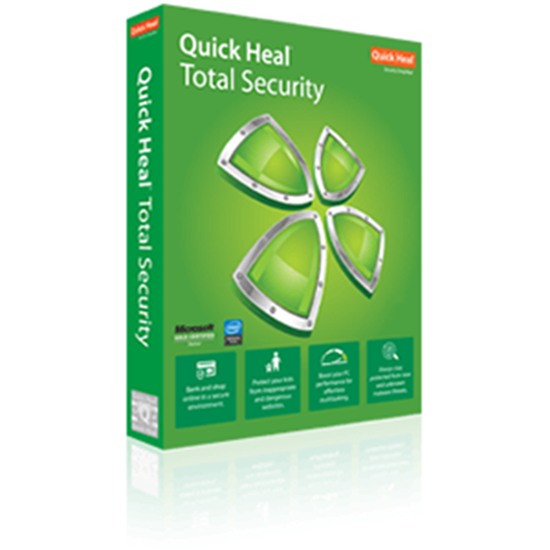 Quick Heal Total Security - 3 User - 1 Year