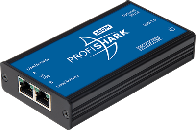 ProfiShark™ 100M: 10/100 Ethernet into USB 3.0